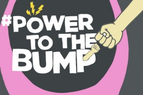 Power to the bump logo