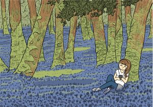 Cover art for Beginners Guide to Being Outside by Gill Hatcher, copyright 2014.