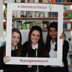 three young women take part in SYWS 15